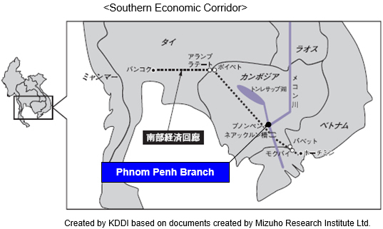 Created by KDDI based on documents created by Mizuho Research Institute Ltd.
